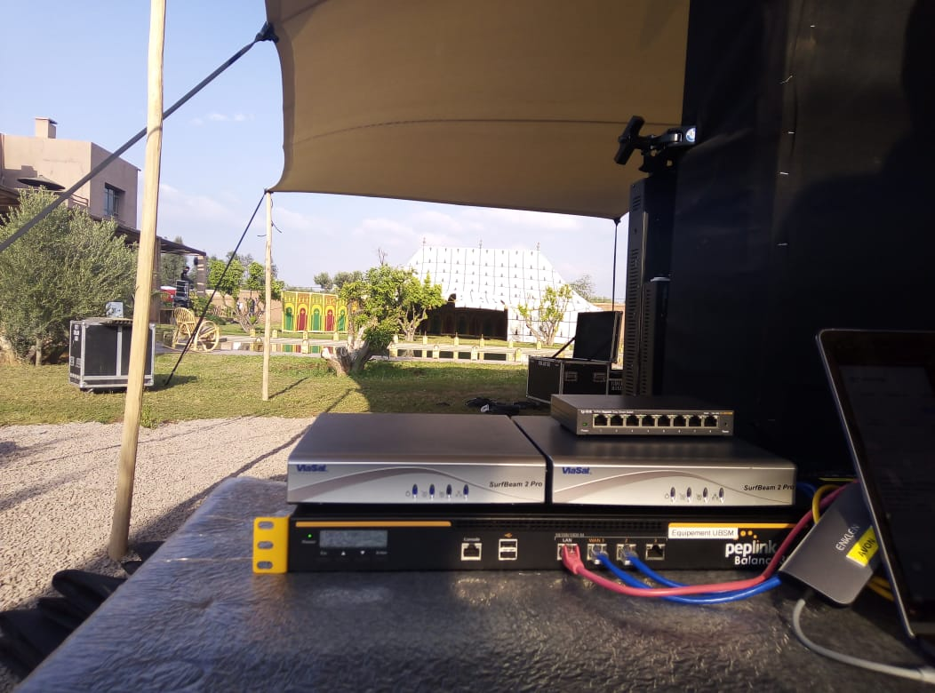 internet par satellite maroc