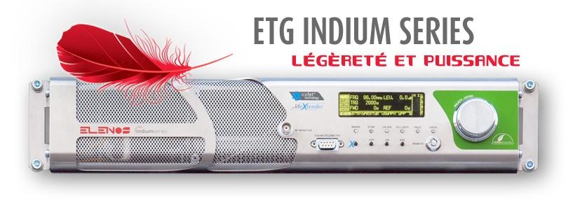 ETG Indium 150W à 2Kw 1